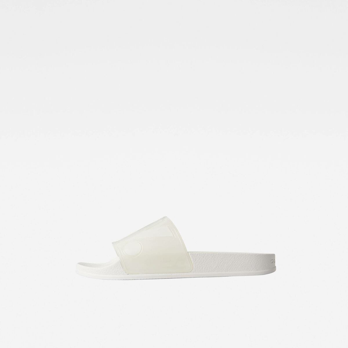 G-Star Women White Cart Slide Ii Transparent Shoes WOMEN