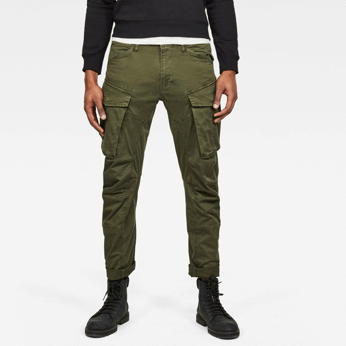 Green Man Pants 3D Cargo Straight Tapered Pant G-Star MEN
