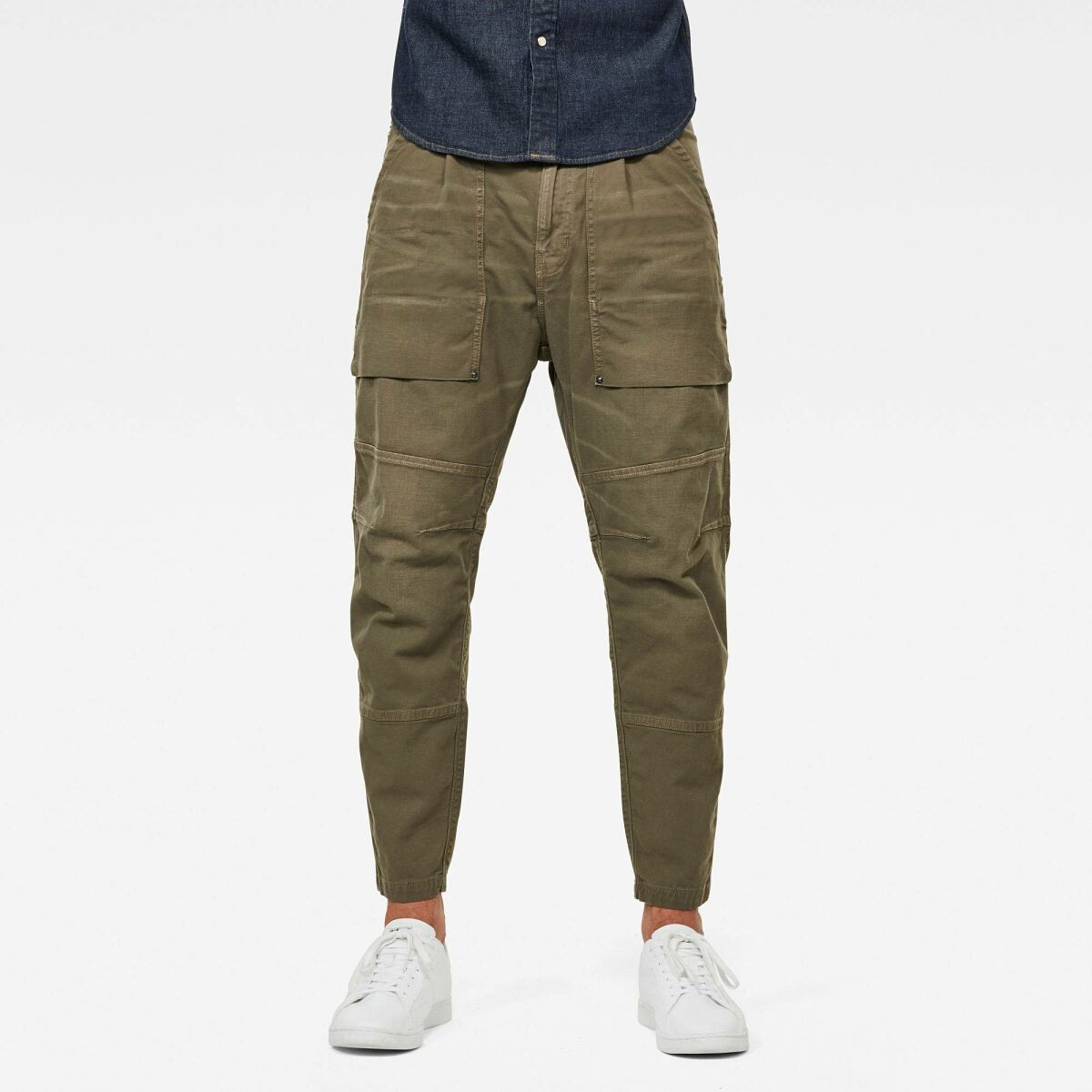 Green Man Pants Fatigue Relaxed Tapered Pants G-Star MEN