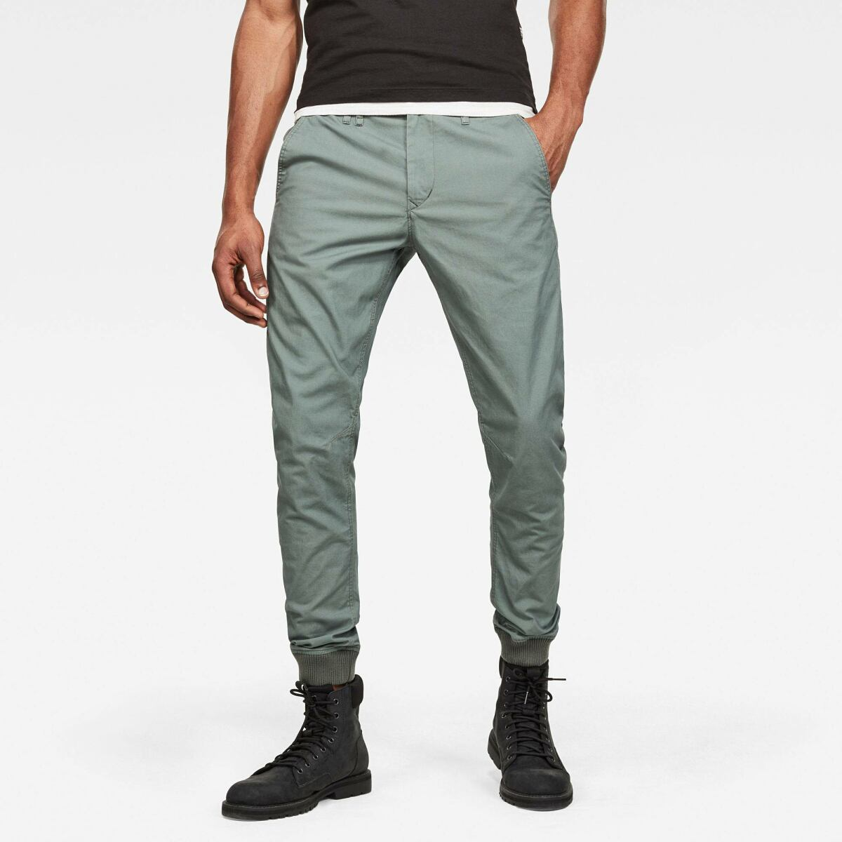 Green Man Pants Vetar Cuffed Slim Chino G-Star MEN