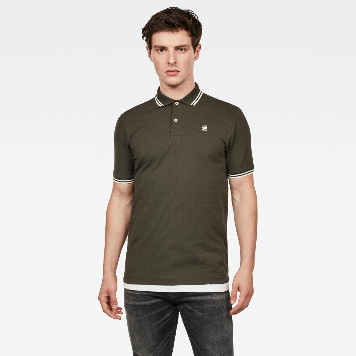 Green Man Polos Dunda Slim Polo G-Star MEN