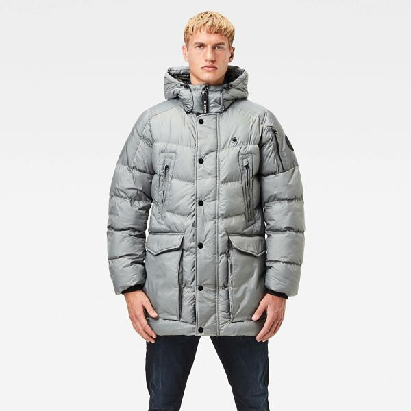 Grey Man Jackets and Blazers Whistler Hooded Parka G-Star MEN