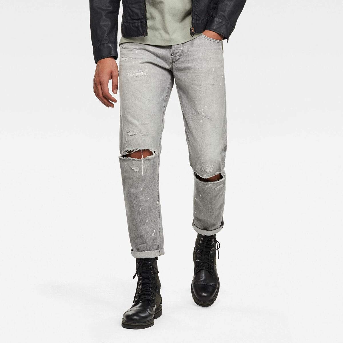Grey Man Jeans 3911 Alum Relaxed Tapered Jeans G-Star MEN