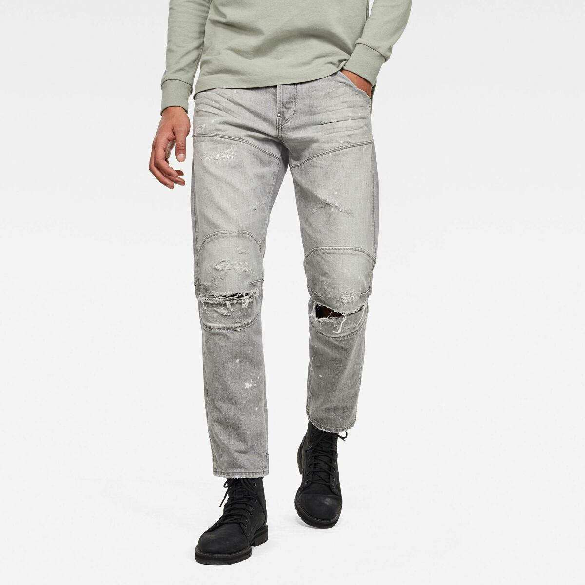 Grey Man Jeans 5620 3D Original Relaxed Tapered Jeans G-Star MEN