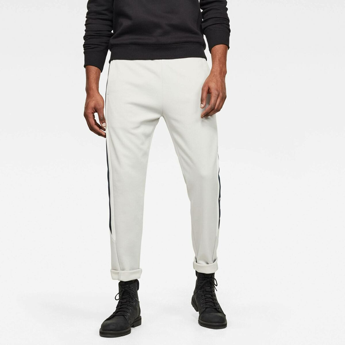 Grey Man Pants Side Stripe Sweatpants G-Star MEN