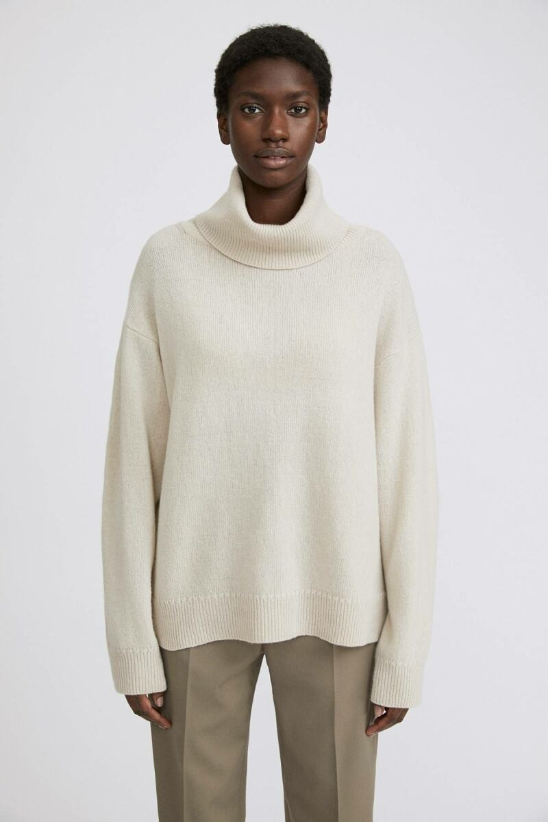 Ivory Molly Women Roll-Neck Sweater Filippa K NO WOMEN