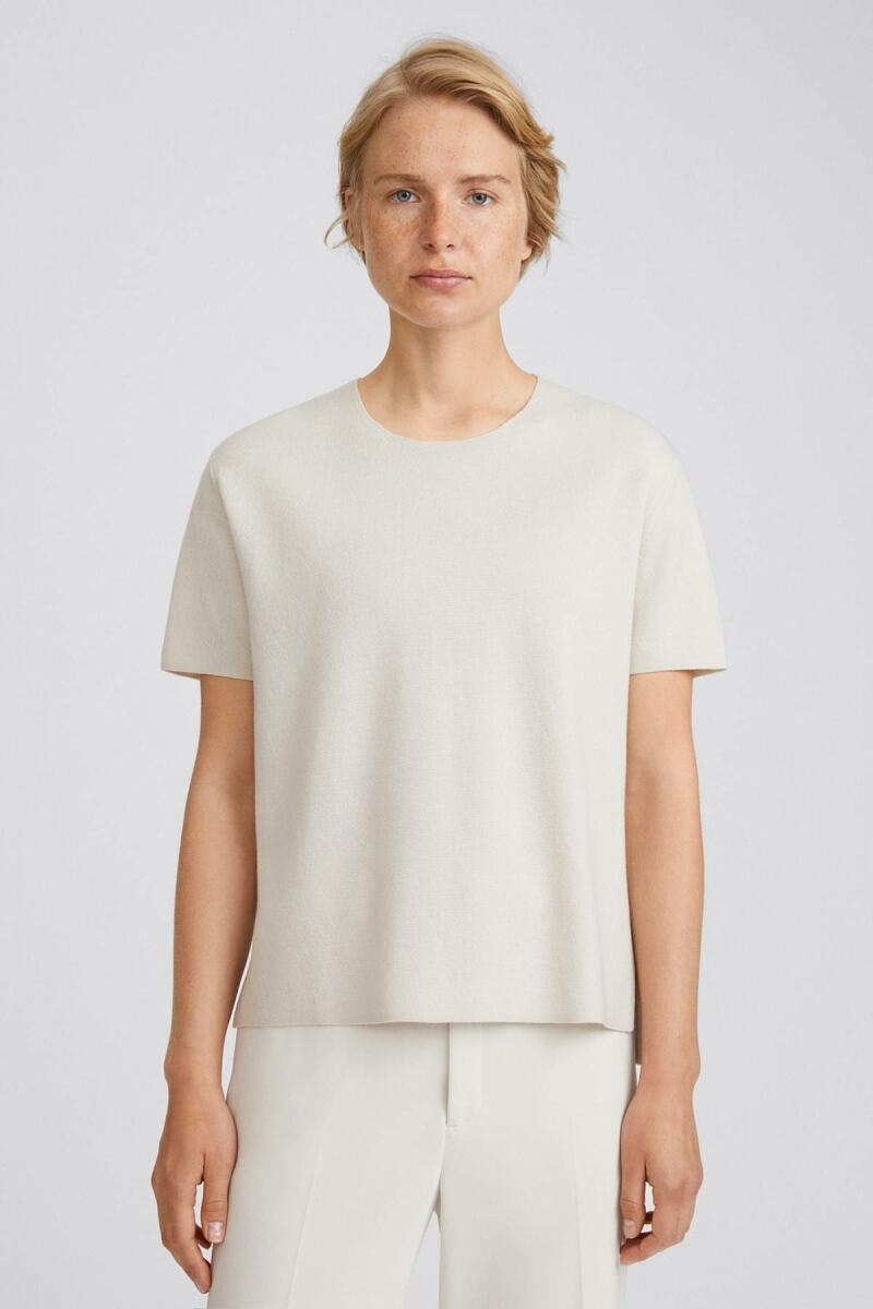 Ivory Rose Women T-Shirt Filippa K NO WOMEN