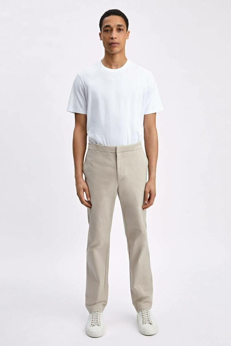 Khaki Toby Men Twill Chino Filippa K NO MEN