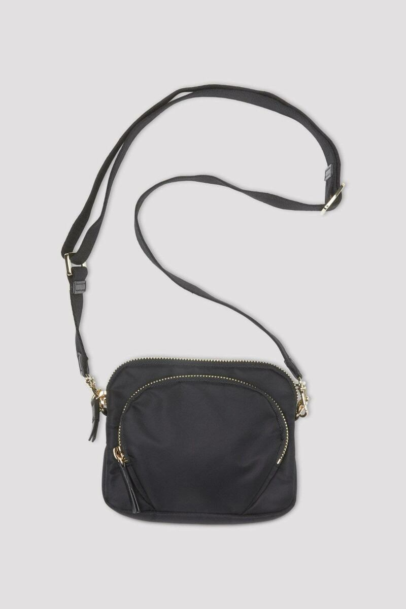 Ladies Black Mini Nylon Bag Filippa K FR WOMEN