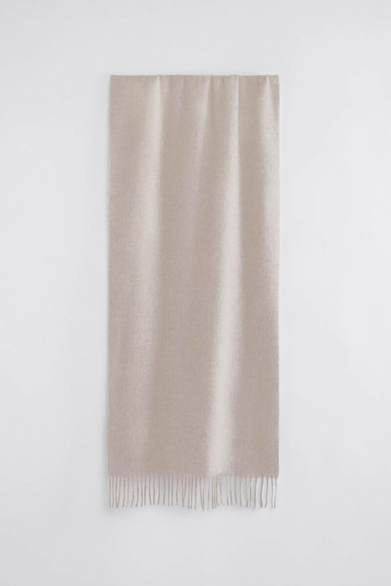 Ladies Sand Beige Cashmere Blend Scarf Filippa K FR WOMEN