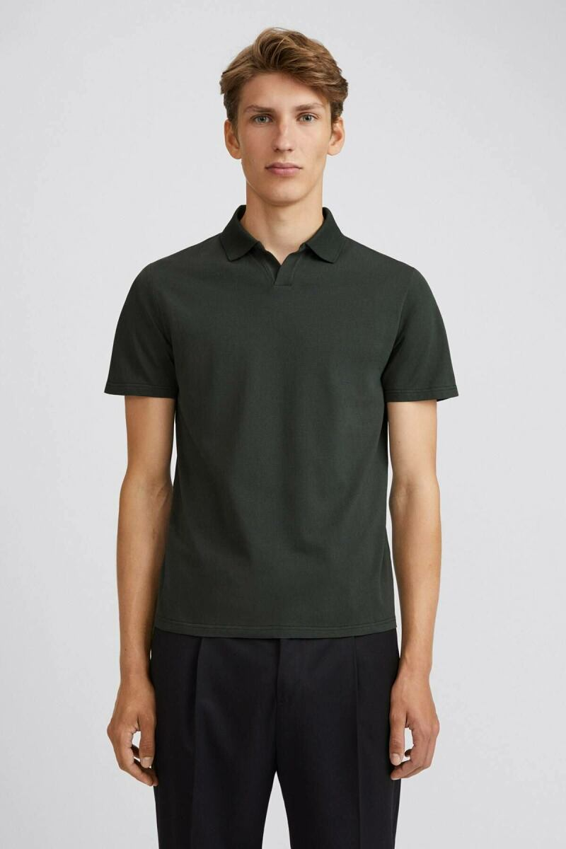Lycra Polo Man T-Shirt Dark Spruce MEN