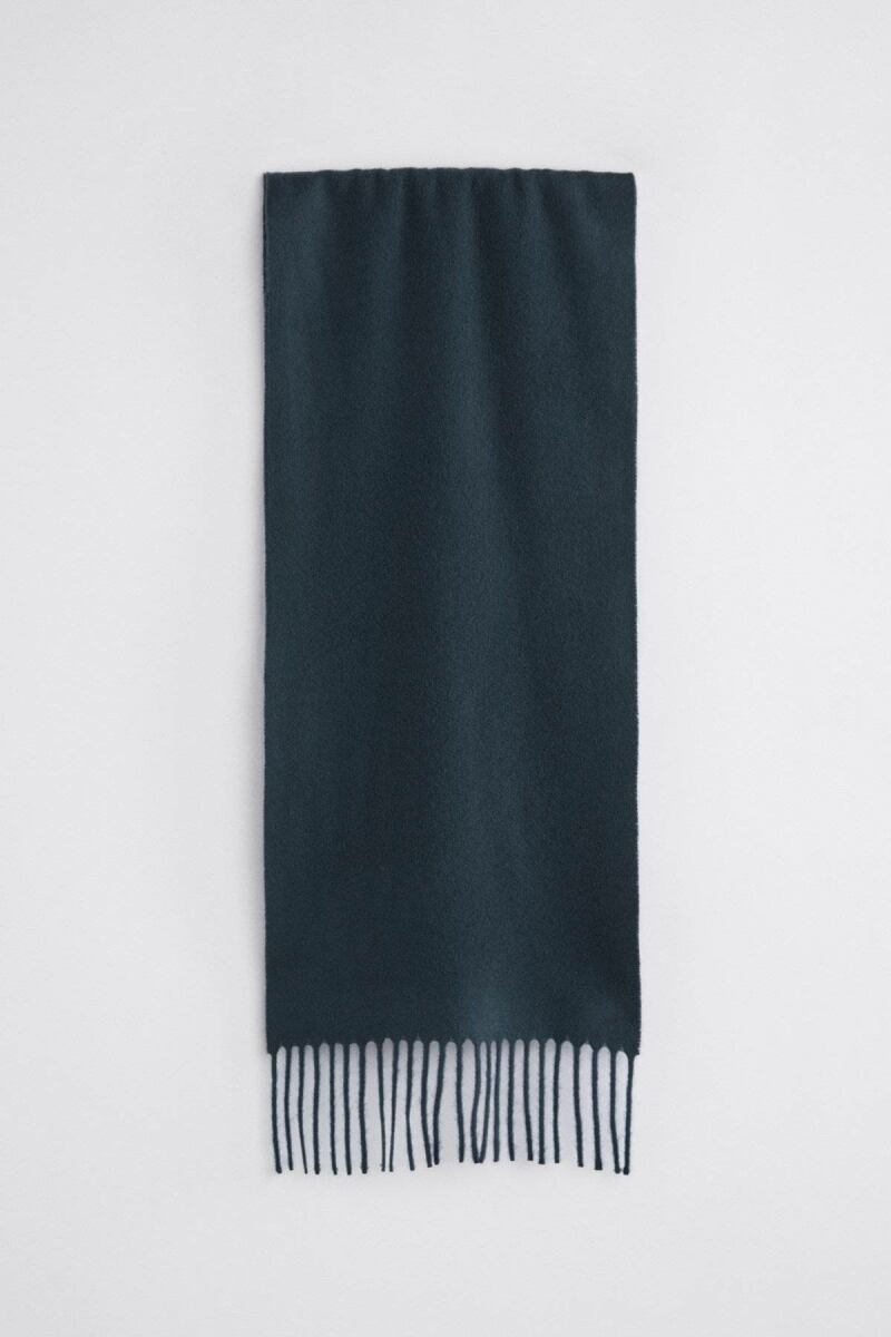 Navy Cashmere Men Scarf Filippa K NO MEN