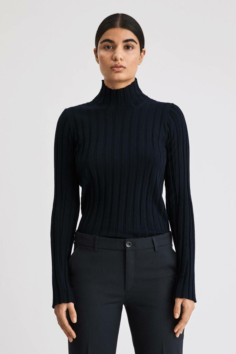 Navy Wendy Women Turtleneck Sweater Filippa K NO WOMEN