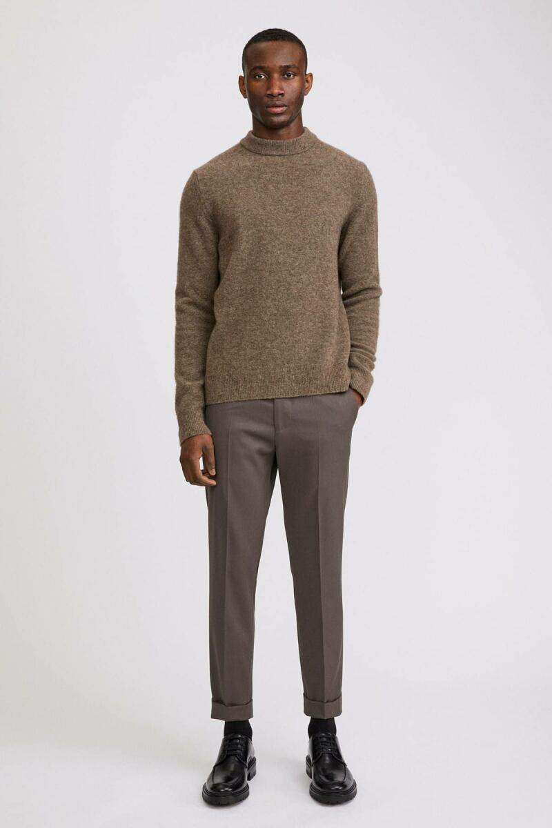 Terry Cropped Man Trouser Taupe MEN