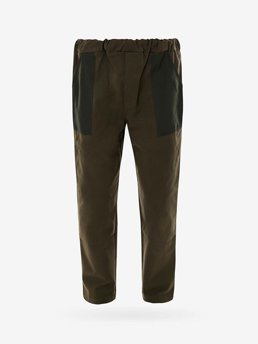 The Silted Company Green Man Pants Trousers Nugnes UK MEN