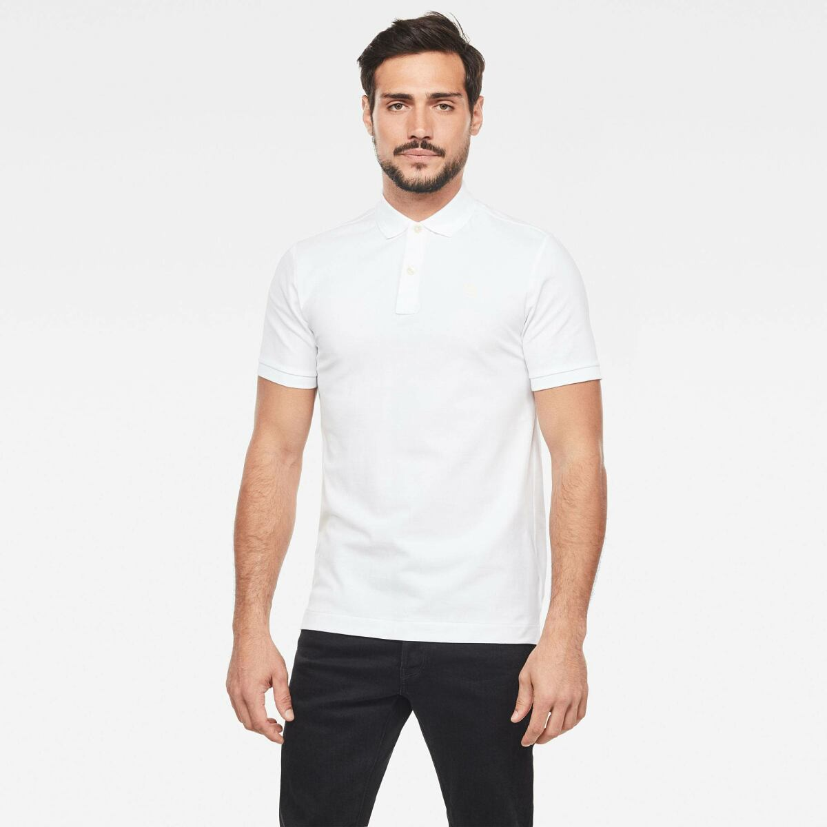 White Man FW Stack Discount Dunda Slim Polo G-Star MEN