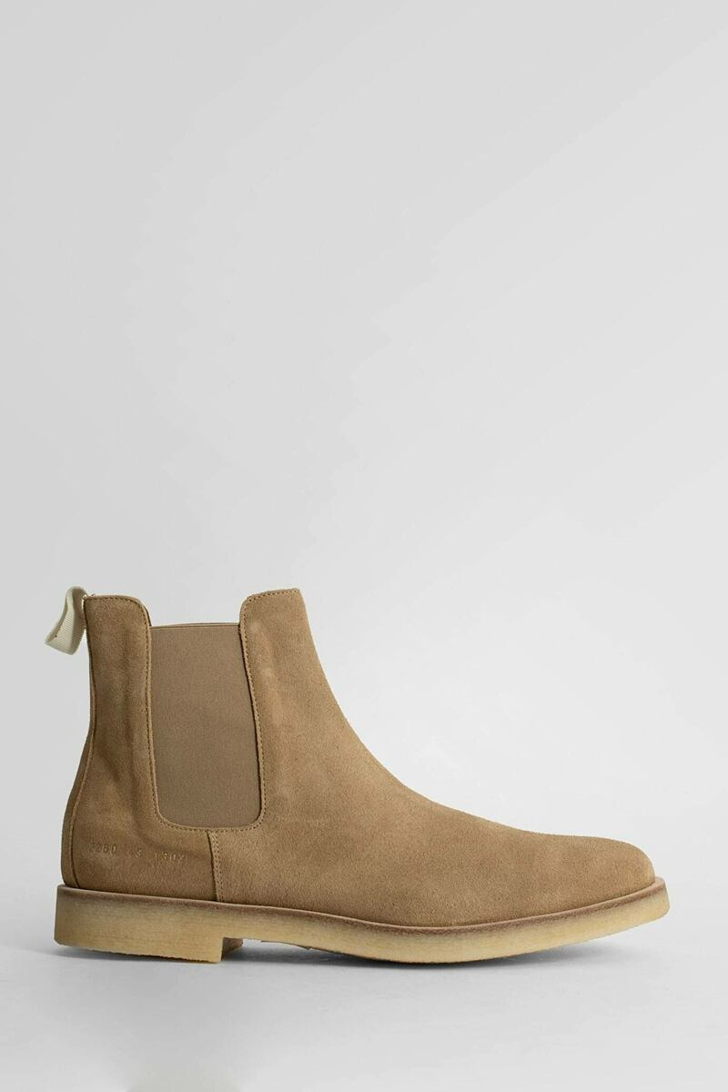 Common Projects Men's Beige Projects Boots Antonioli USA MEN Men SHOES Mens BOOTS