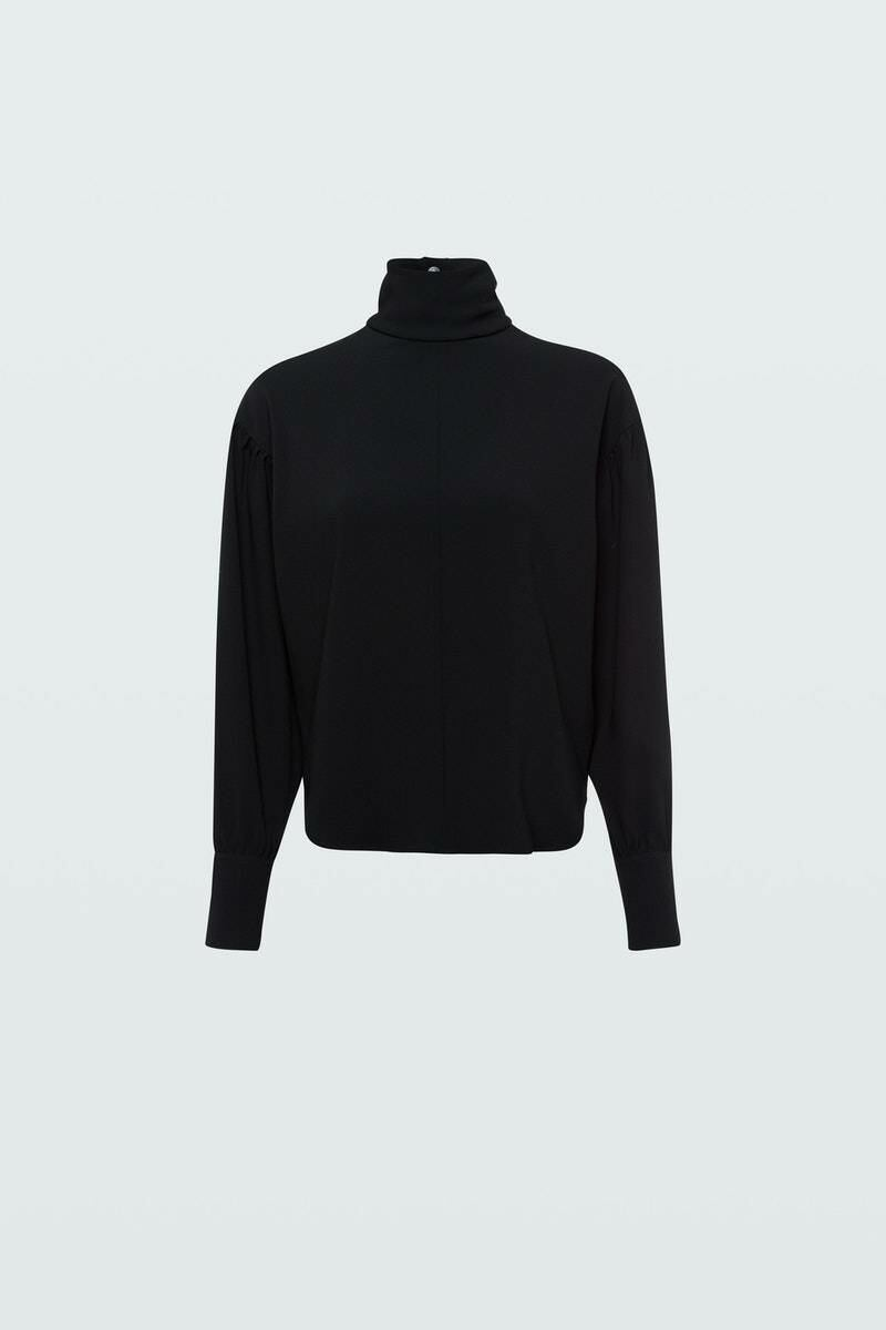 Dorothee Schumacher Woman Attitude Blouse 2 Black WOMEN Women FASHION Womens BLOUSES