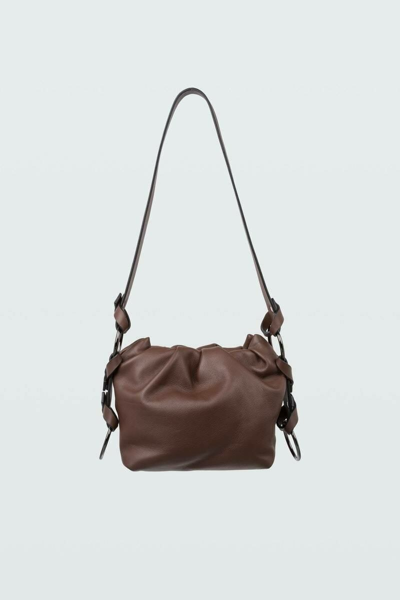 Dorothee Schumacher Woman Contrast Pouch Bag Brown WOMEN Women ACCESSORIES Womens BAGS