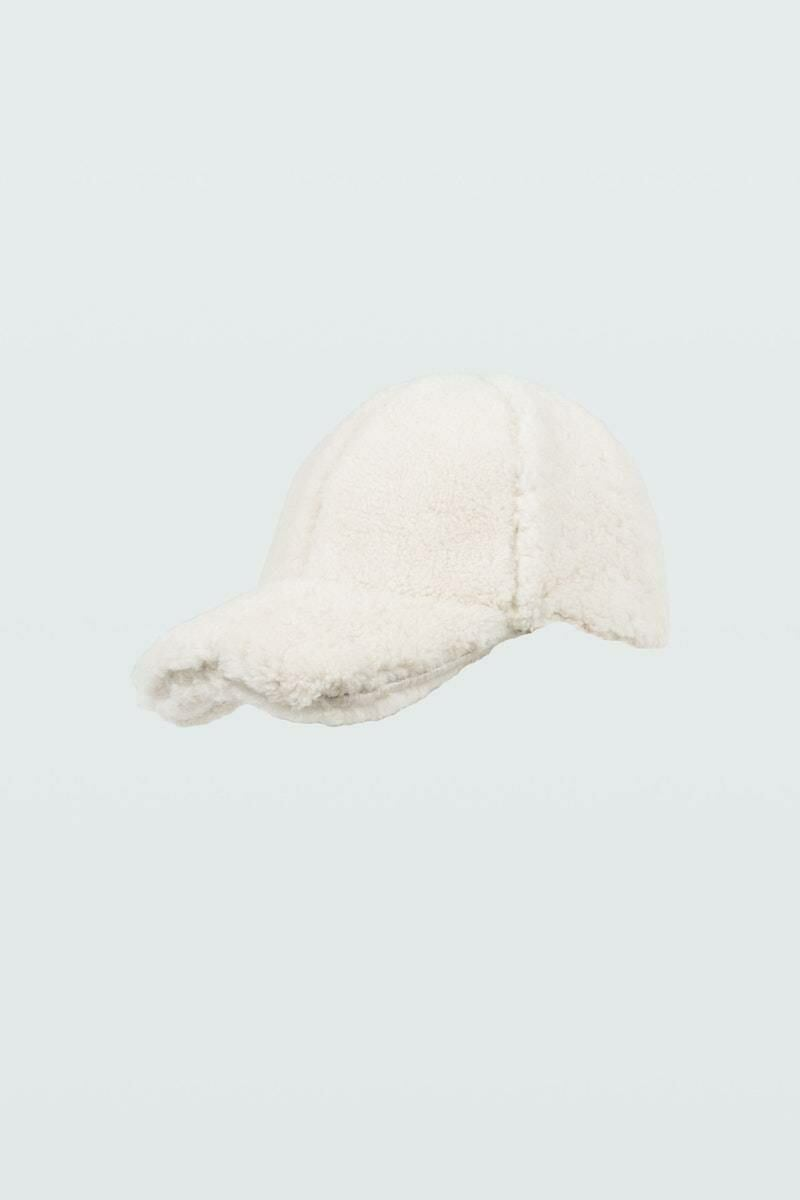 Dorothee Schumacher Women's Knows Touch Shearling Hat WOMEN Women ACCESSORIES Womens HATS