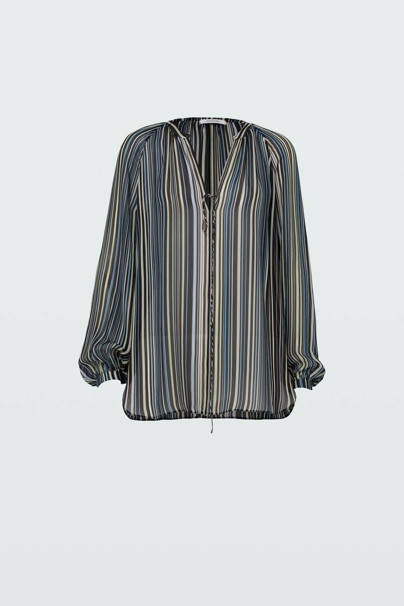 Dorothee Schumacher Women's Print Stripes Blouse 3 WOMEN Women FASHION Womens BLOUSES