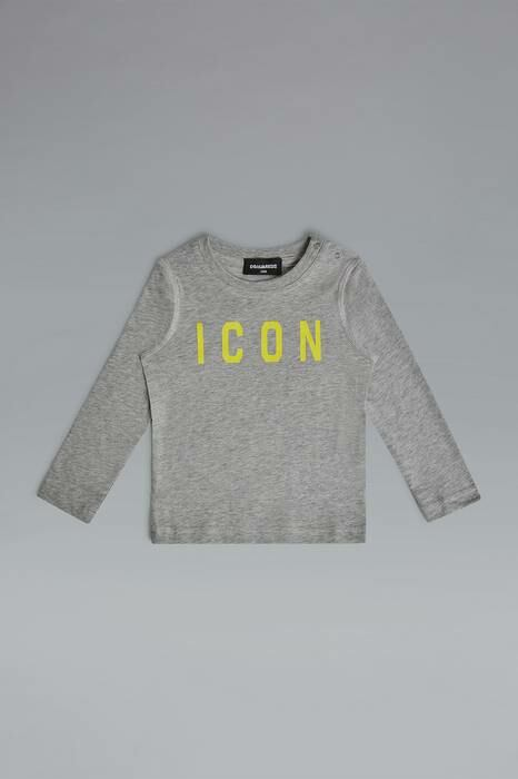 Dsquared2 Infant Long Sleeve T-Shirt Light Grey-12 100% Cotton MEN Men FASHION Mens T-SHIRTS