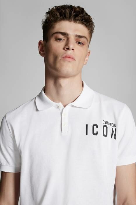 Dsquared2 UK Men's Polo Shirt White 100% Cotton MEN Men FASHION Mens POLOSHIRTS