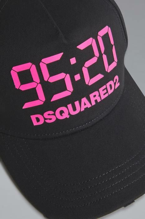 Dsquared2 UK Women's Hat Black Size Onesize 100% Cotton WOMEN Women ACCESSORIES Womens HATS