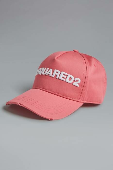 Dsquared2 UK Women's Hat Light Pink Size Onesize 100% Cotton WOMEN Women ACCESSORIES Womens HATS