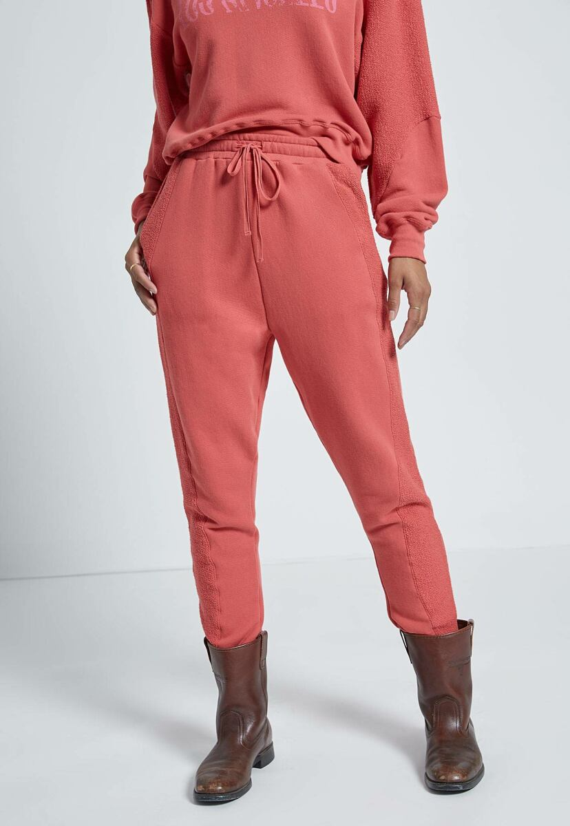 Women's Red Hot Hunt Sweatpant With Seaming Current Elliott USA WOMEN Women FASHION Womens TROUSERS