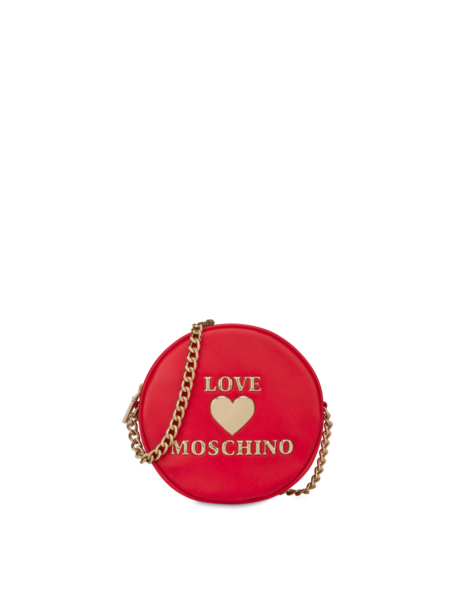 Love Moschino Women's Padded Heart Shoulder Bag Red WOMEN Women ACCESSORIES Womens BAGS